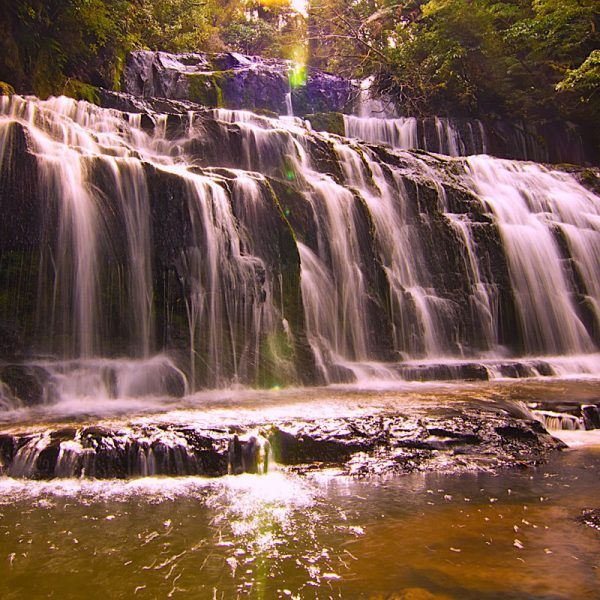 Catlins Waters Fall Photo by Frank Gumley