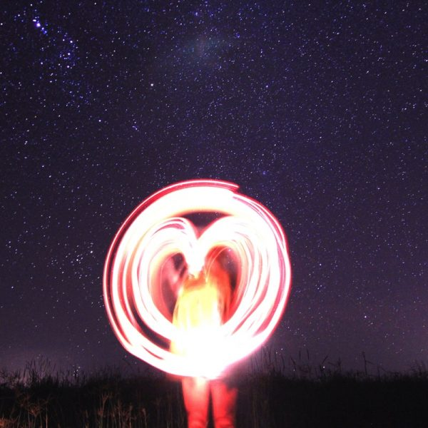 Fire Twirling - M is for Mercury. Photo by Frank Gumley.