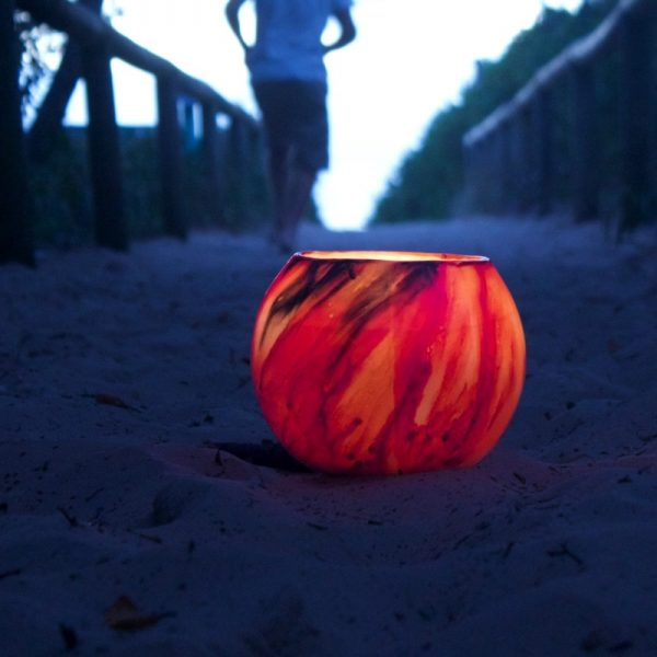 Mars Lantern glows brilliant red with highlights of raven black. Photo: Frank Gumley