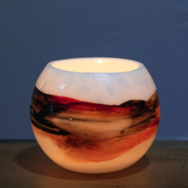 The haunting, ever-changing hues of the Red Centre. Photo: Integrity Candles collection.